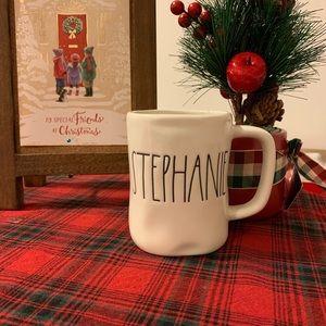 Rae Dunn STEPHANIE mug